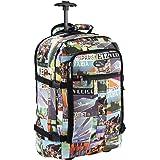 Cabin Max Lyon Zaino Trolley con Ruote Perfetto Come Bagaglio Cabin Size per i Voli di Tutte Le Compagnie Aeree – Valigia Bag