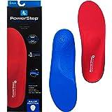 Powerstep Pinnacle Plus Met - Solette, Colore: Rosso/Blu