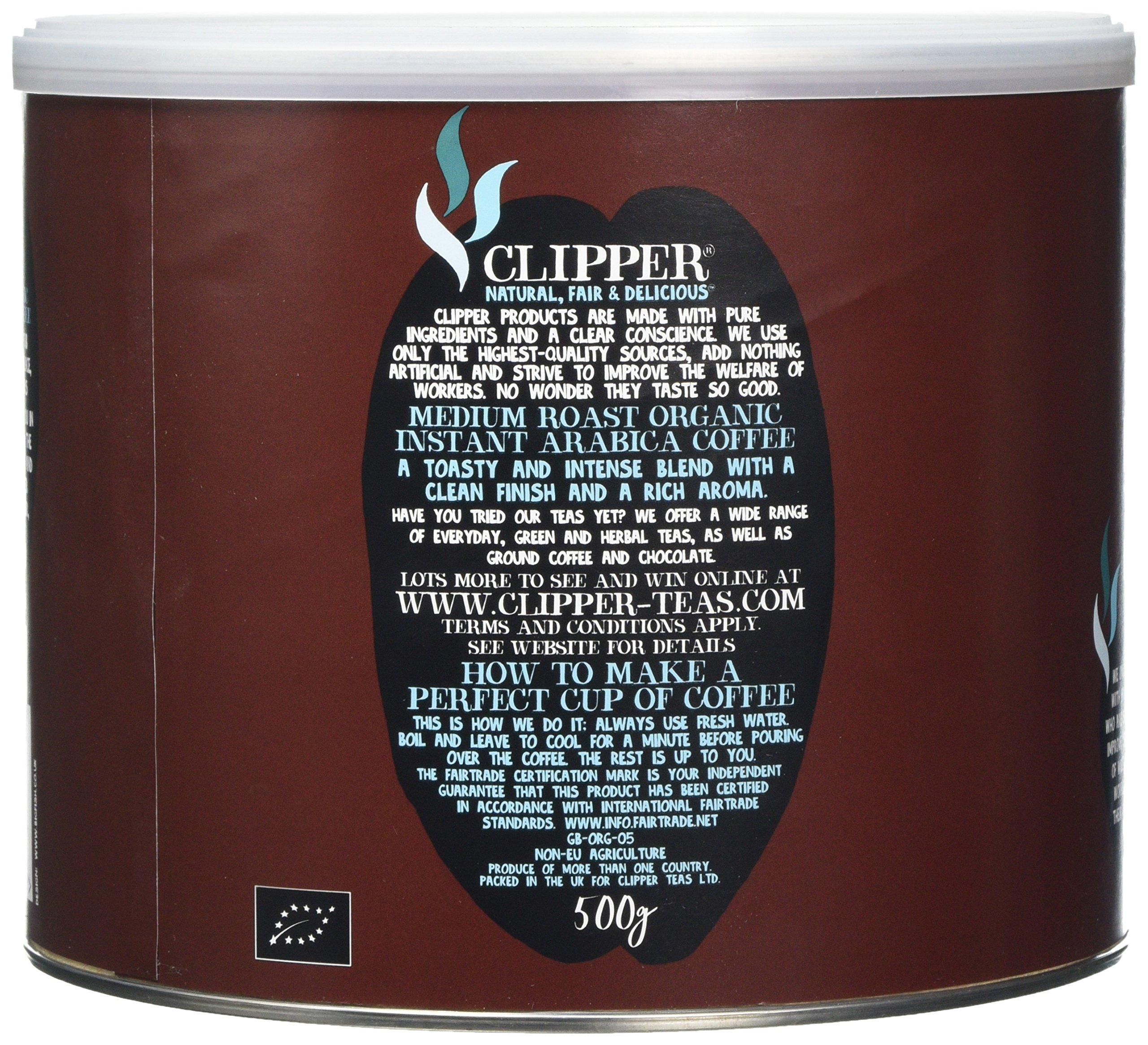 Clipper Teas Organic Medium Roast Arabica Coffee 500g