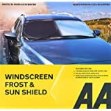 AA Windscreen Sun Shield and Frost Protection