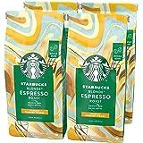 STARBUCKS Blonde Espresso Roast Café De Grano Entero De Tostado Suave (4 Bolsa de 450g)