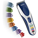 Wahl color pro Cordless Rechargeable Hair Clipper & Trimmer - Easy Color-coded Guide Combs - for Men, Women, children - model