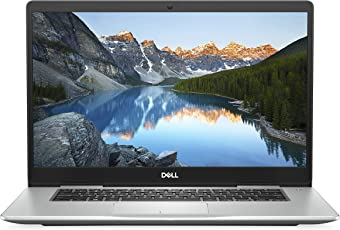 Dell Inspiron 15 7570 Ultrathin Notebook (Intel Core i5-8250U, 8GB RAM, NVIDIA GeForce MX130 4GB GDDR5, Win 10 Home) Platinum Silber