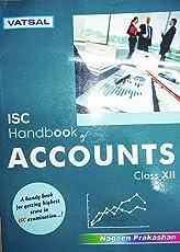 VATSAL ISC HANDBOOK OF ACCOUNTS - XII (VATSAL ISC HANDBOOK)