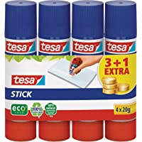 Tesa 57088-00200-02 Colla Stick Ecologo 4 X 20Gr. Shrink