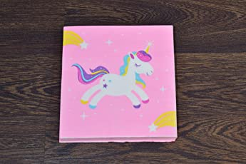 Quirky Monkey Unicorn tissue paper pack For Home Party any Occasion Birthday/anniversary etc (set of 20).