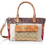 Desigual Womens Fabric Hand Bag, Brown, U