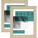 MCS Industries Studio Gallery Frames, 8x10 in, Natural Woodgrain, 2 Count