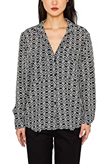 ESPRIT Collection Jersey Bluse mit Mosaik Print: