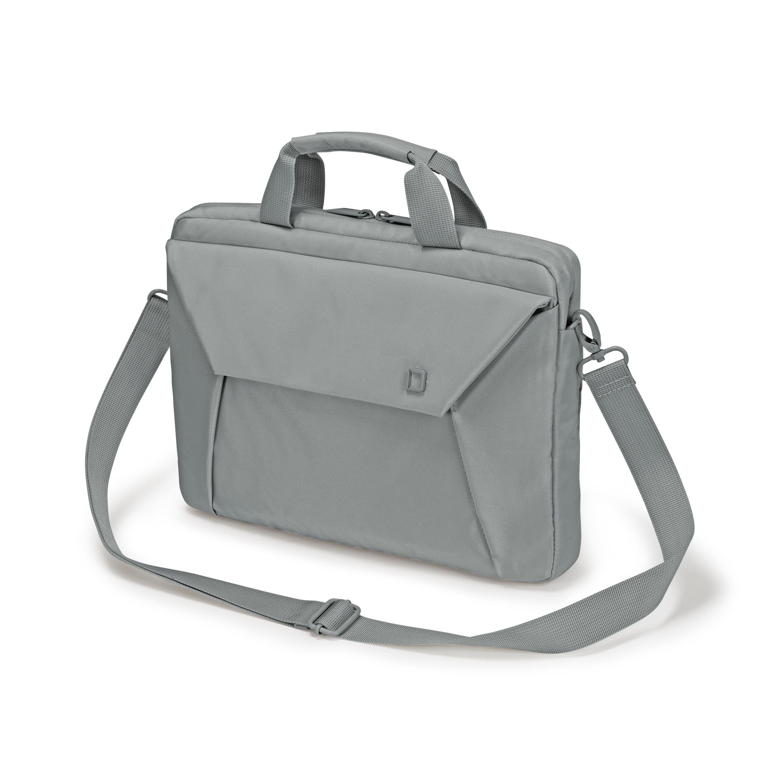 Dicota D31211 13.3 Briefcase Grey notebook case - notebook cases (33.8 cm (13.3), Briefcase, Gr