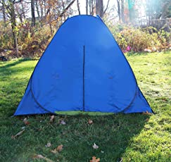 FWQPRA® 3-4persons pop up Tent in Low Price for Outdoor Travel Camping Two Camouflage Color fold in a Round Carry Bag Easy Carry