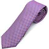 Cravatta in seta blu - Cravatta seta 100% – Pietro Baldini - cravatte fatte a mano - misura 150* 7 cm