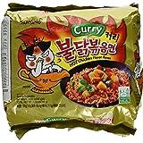 Samyang Buldak Koreaanse Hot Chicken Flavour Curry Ramen 140g (5 packs)