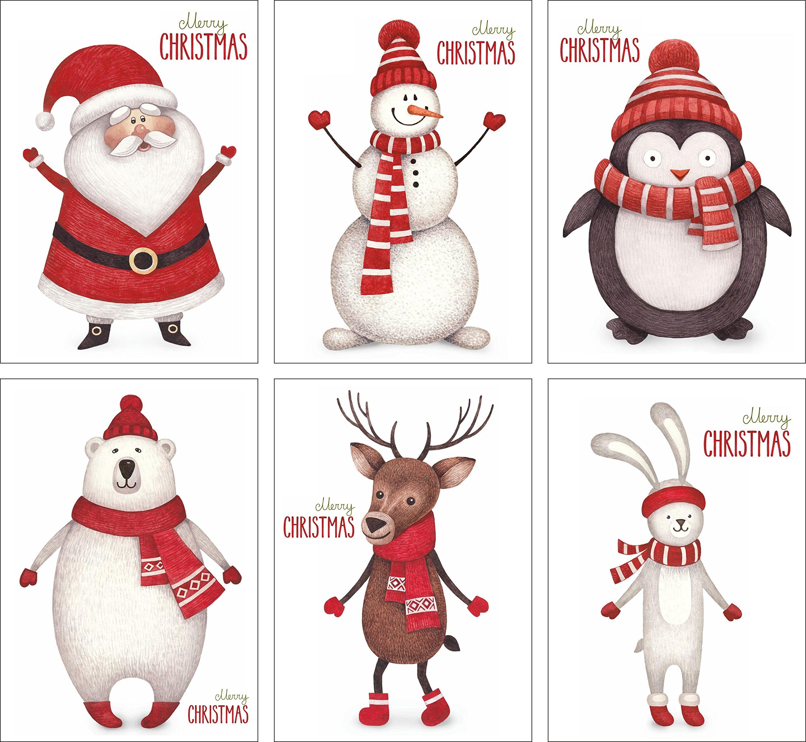 Weihnachtskarten Exklusiv.12 Weihnachtskarten Set Mit 6 Außergewöhnlichen Motiven Grusskartenkaufen De