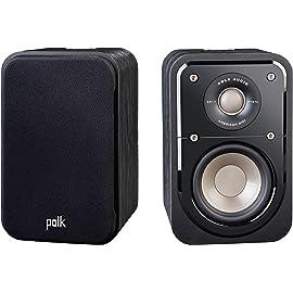 Polk Audio Signature S10 American HiFi Home Theater Compact Satellite Surround Speaker   India Warranty*