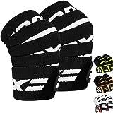 RDX knäbandage för viktnivåer   Godkänd av IPL och USPA   Elastiska knäskydd för sport, bodybuilding   Powerlifting knästöd,