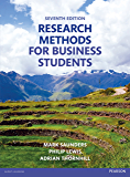 Research Methods for Business Students (English Edition)