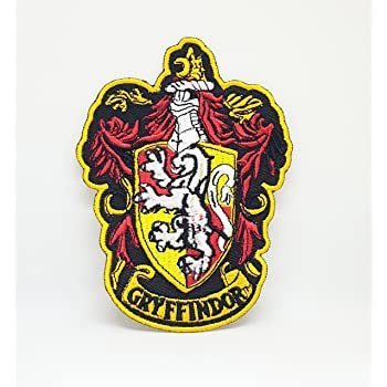 07a7d71f36b Harry Potter Gryffindor Crest Iron Sew on Embroidered Patch