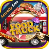 Hidden Object Food Truck – Candy, Chocolate, Cupcake Dessert & Junk Foods Objects Pic Puzzle Objects Seek & Find FREE Game
