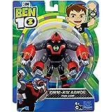 Ben 10 BEN47D10 Figura de acción - Cuatro Brazos Omni Kix