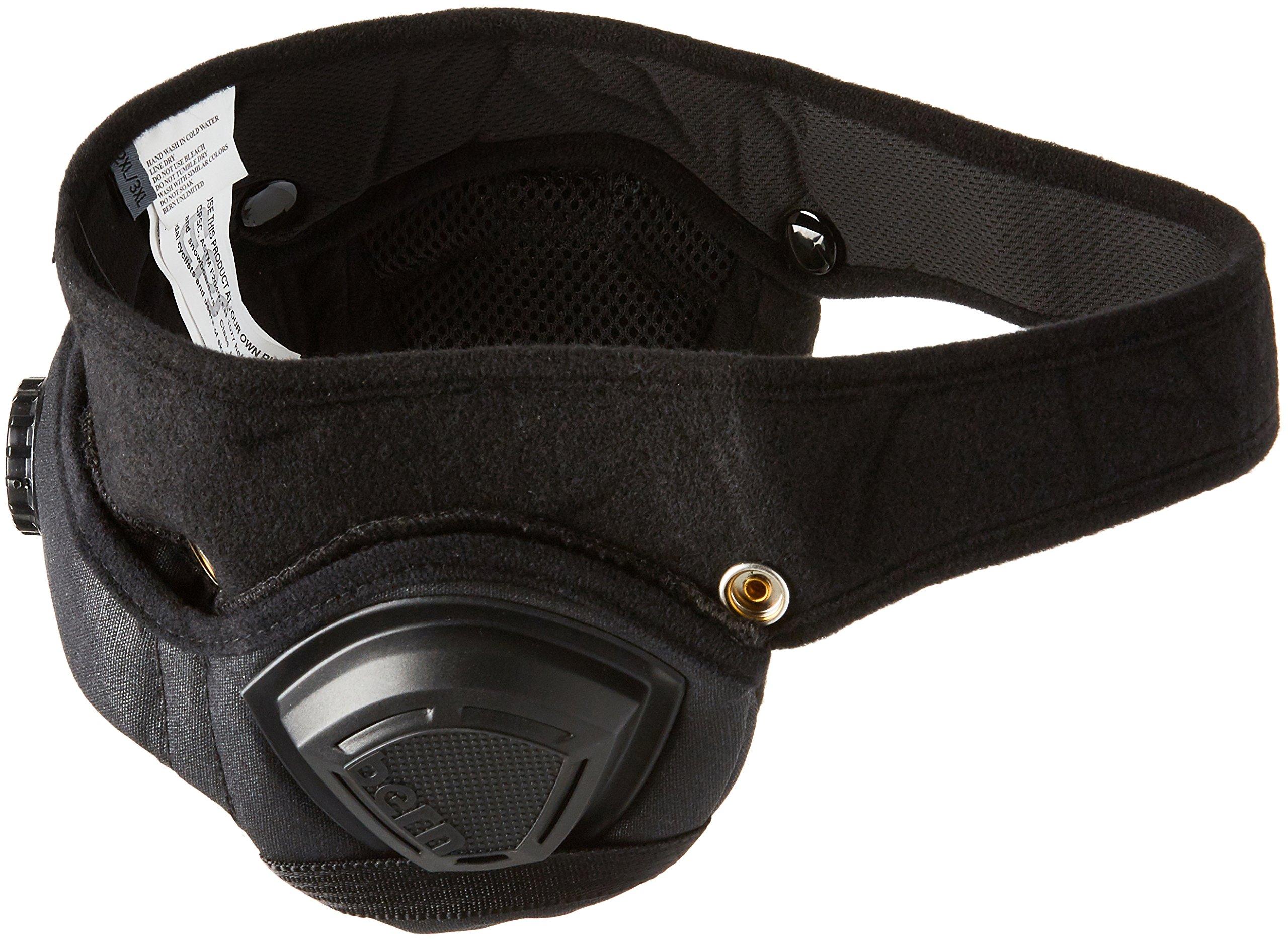 Bern Hecot accessorio per casco, Nero - nero