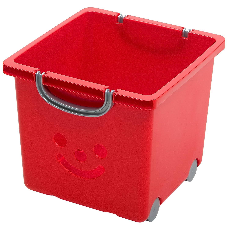 Kids Room Storage Boxes, Toys Storage Box, Toys Storage Units With Wheels, Storage  Box With Smile, Smiley Storage Box, Baby Toys Storage White   25 Litre: ...
