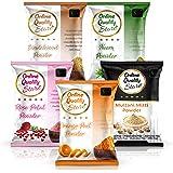 Online Quality Store Multani Mitti + Chandan Powder + Orange Peel Powder + Neem Powder + Rose Powder, 400g