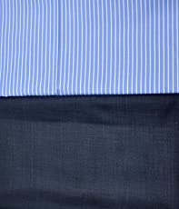 My Fabric Store Men's Unstitched Shirt and Trouser Fabric Combo