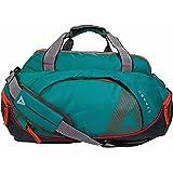 STRABO Columbia Nylon Travel Luggage Duffel Bag in Teal Blue 50 L