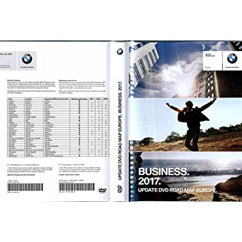 BMW BUSINESS 2017 Navigations 2x DVD Update / Vollversion Road Map ...