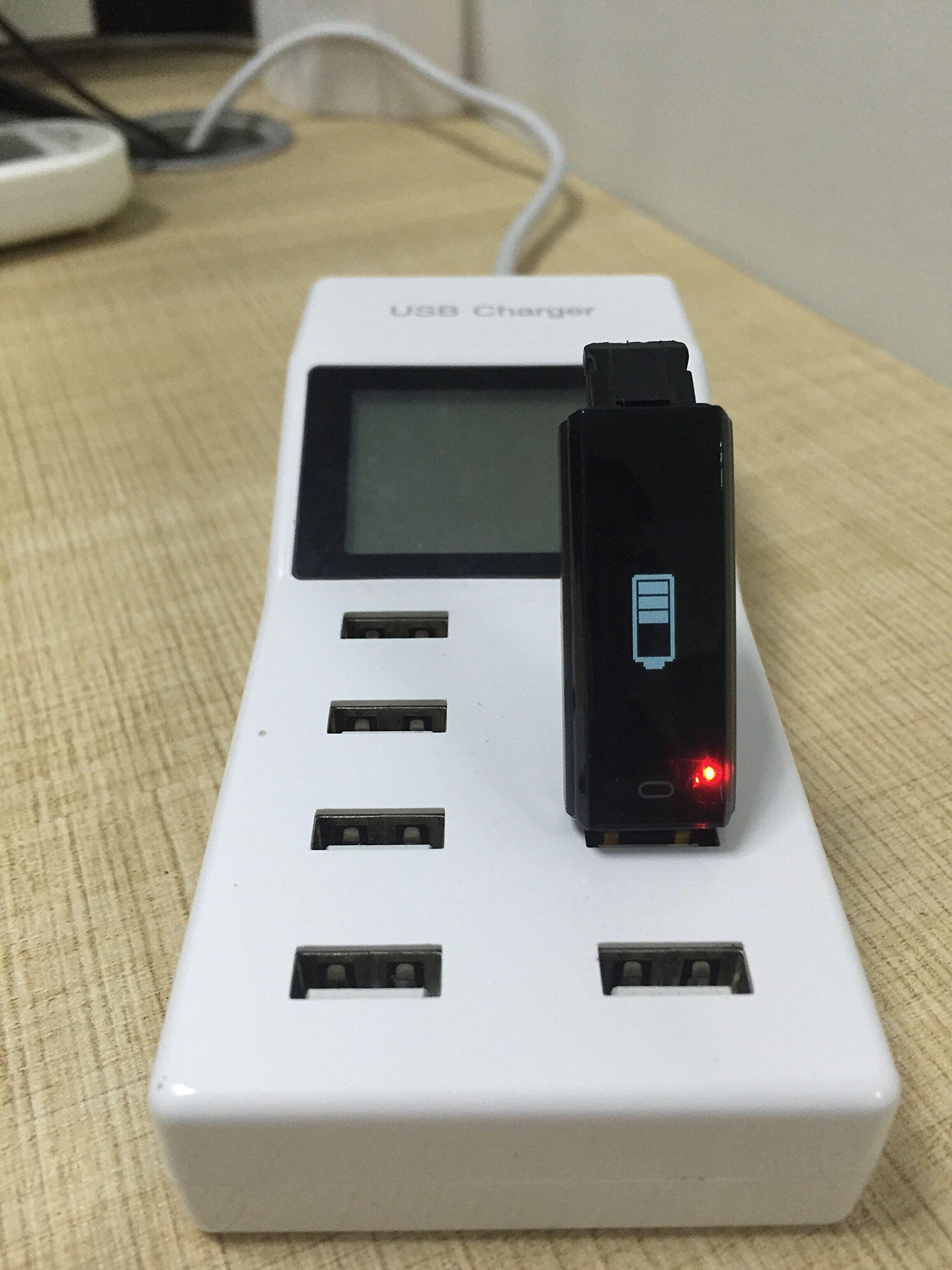 Arbily Pulsera Inteligente, Fitness Tracker Smart Wristband Bracelet monitorear la Actividad de Seguimiento de BOT¨®n t¨¢ctil de Bluetooth Pulsera Brazalete Deportivo Impermeable IP66 de la Aptitud 7