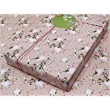 """eVincE - thoughtful PRESENTations Floral Matte Gift Wrapping Paper (28""""x20"""") - Set of 25"""