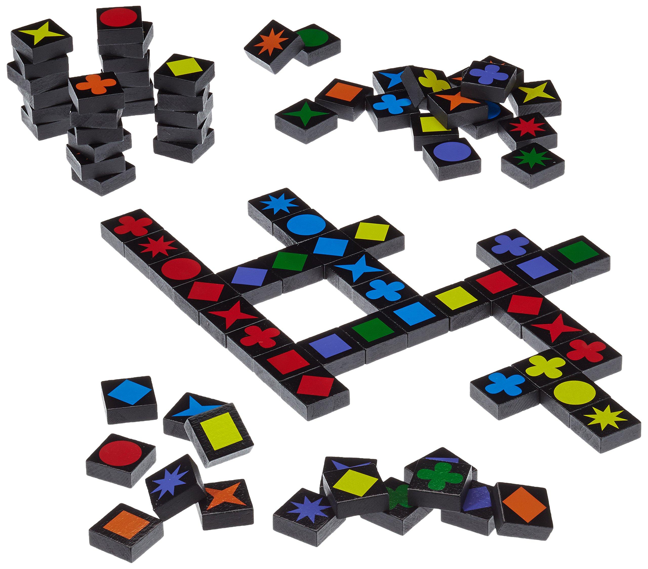 Schmidt-Spiele-49014-Qwirkle-Legespiel-Spiel-des-Jahres-2011