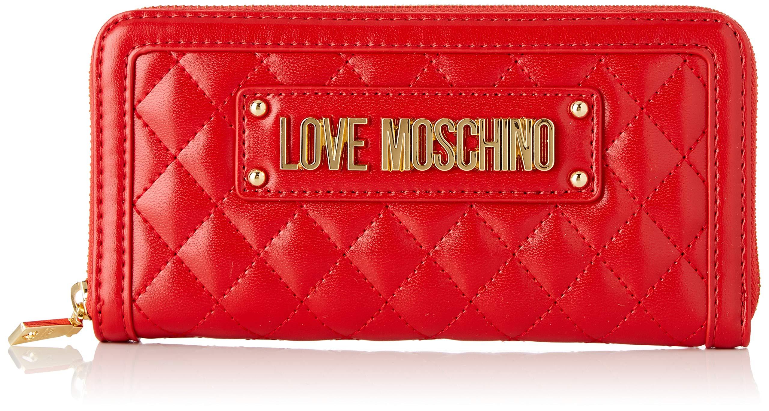 9b5abb4095 Love Moschino Quilted Nappa Pu, Portafoglio Donna, 15x10x15 cm (W x H x L)