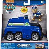 Paw Patrol Value Basic Vehicle - Chase, Action Figure, Toys for 3+