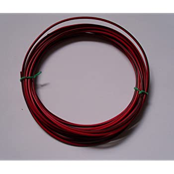5m 2,5mm² Kfz Kabel Litze Flry Rot/Schwarz: Amazon.de: Elektronik