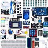 ELEGOO Conjunto Mas Completo y Avanzado de Iniciación Compatible con Arduino IDE Mega 2560 con Guías Tutorial en Español y Co