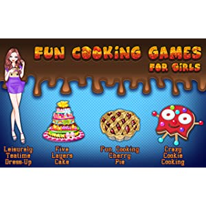 Fun Cooking Games For Girls Amazon Co Uk Appstore For Android
