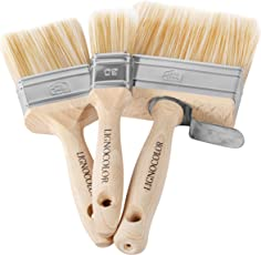 Lignocolor Malerpinsel Flachpinsel Set 30er 60er 100er