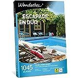 Wonderbox – Coffret cadeau duo - ESCAPADE EN DUO – 1045 séjours d'une nuit en hôtels de charme, maisons d'hôtes authentiques