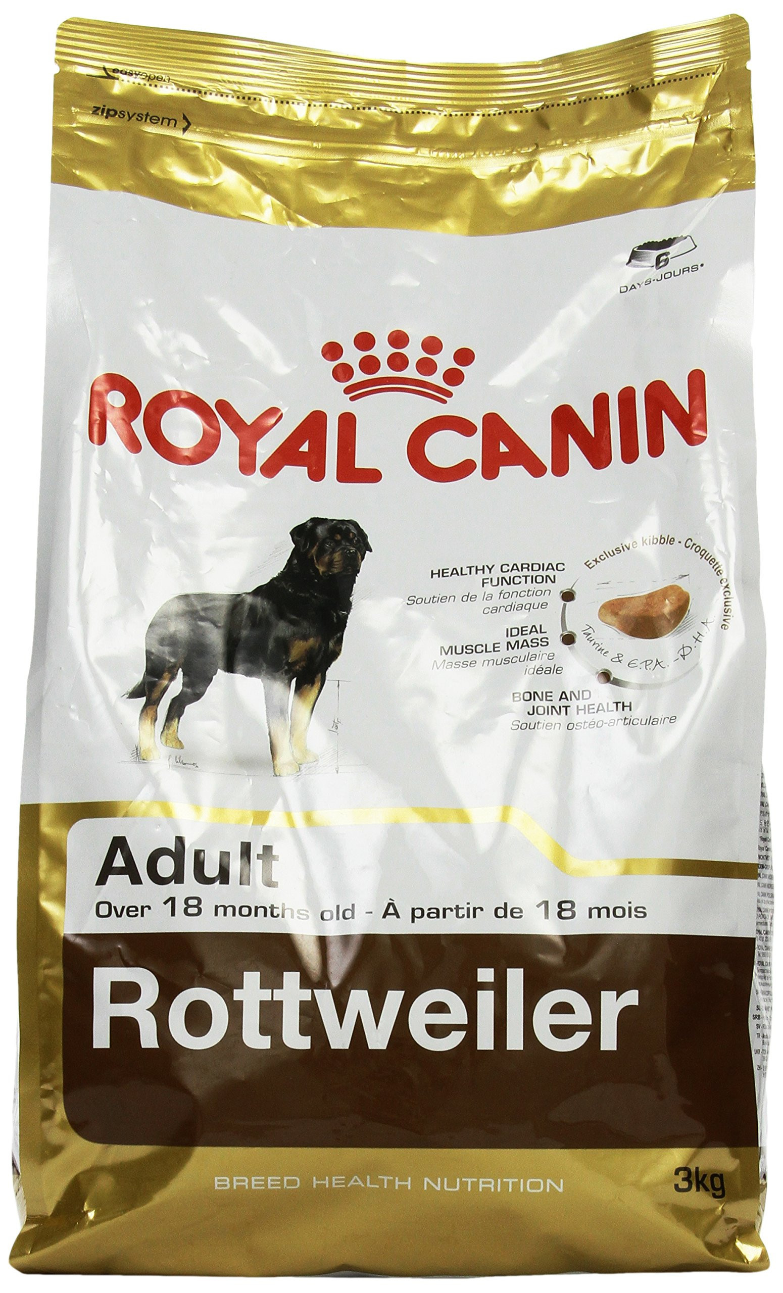 Royal Canin Dog Food Rottweiler 26 Dry Mix 3kg