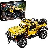 LEGO Technic Jeep Wrangler 4x4, Modello Fuoristrada SUV Giocattolo da Costruzione, 42122
