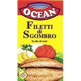 Ocean Filetti di Sgombro in Olio di Semi, 125g
