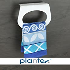 Plantex High Grade Towel Ring/Towel Holder Stand/Napkin Ring/Bathroom Accessories for Home (Capsule)