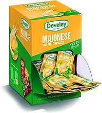 Aperisnack - AP05.008.01 Maionese Develey monodose con olio di girasole - 100 bustine da 15 ml