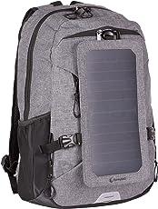 SunnyBAG Solar Rucksack Explorer Integriertem 6 Watt Solar Paneel und USB Anschluss