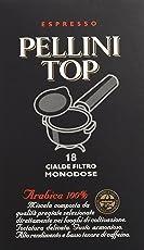 Pellini Top Arabica 100% Cialde Filtro Monodose - 125 gr [12 confezioni x 18 cialde ciascuna]