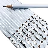 10x edle Bleistifte zu Weihnachten (Frohe Weihnachten)