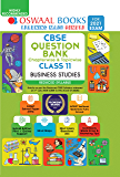 Oswaal CBSE Question Bank Class 11 Business Studies (Reduced Syllabus) (For 2021 Exam)