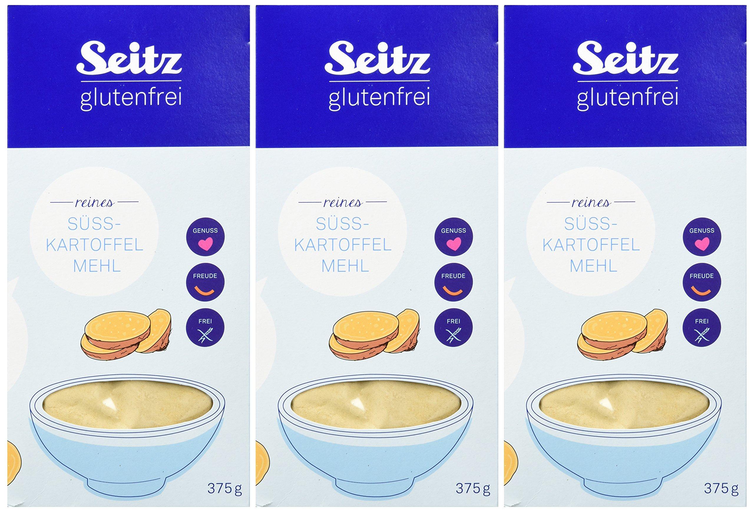 Seitz Gluten Free Sweet Potato Flour Pack Of 3 3 X 375 G Cheap Shopping Deli Berlin Cooking Ideas Recipes